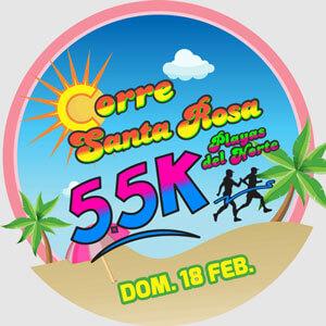Corre Santa Rosa Logo