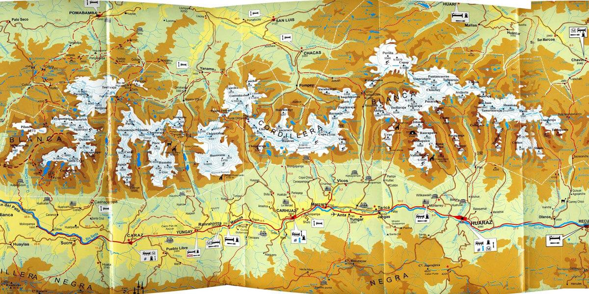 Ultra Trail Cordillera Blanca (UTCB) 2018 – Kids Mapa Ruta