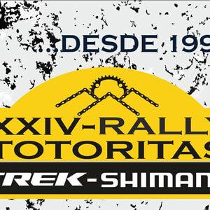 XXIV Rally Internacional Totoritas 38k Logo