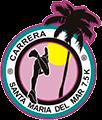 XVII Carrera Santa María del Mar 2018 Logo