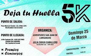 Deja Tu Huella 5K 2018 Logo