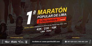 Mapoli maraton popular de Lima