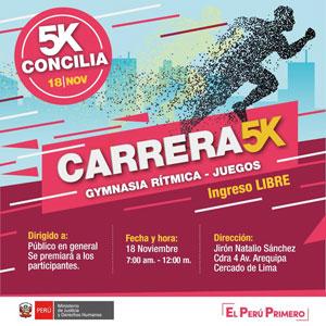 Carrera Concilia 5k Logo