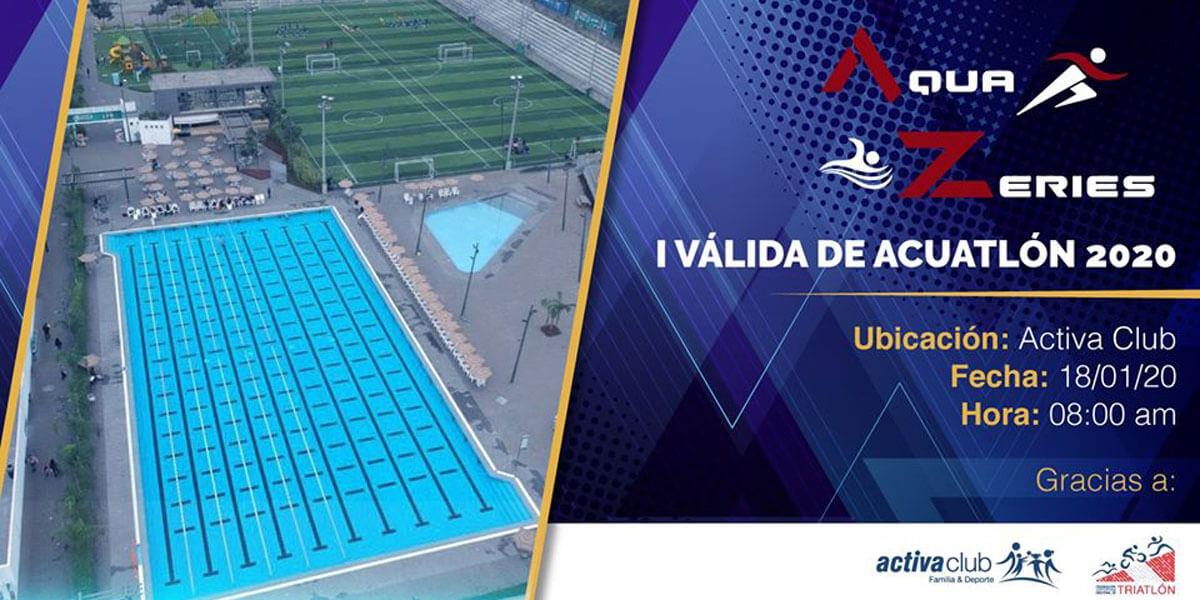AquaZeries I Valida de Acuatlon 2020